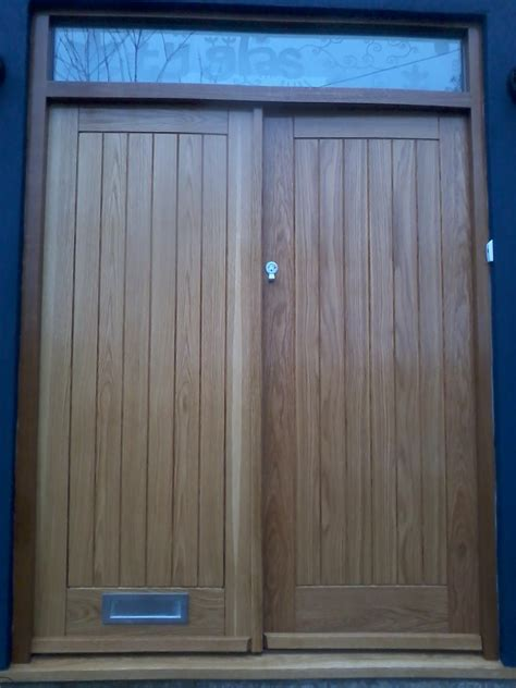 Bespoke Front Doors Uk Bespoke Oak Front Doors Bartlett Joinery And Carpentry