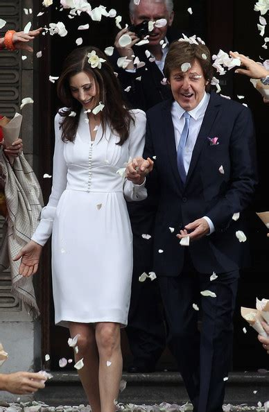 paul mccartney nancy shevell wedding paul mccartney and nancy shevell after their civil