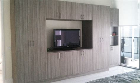 wall units contemporary bedroom miami by metro