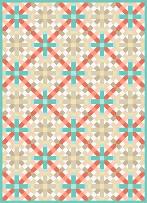 Lattice Quilt Pattern Free by Lattice Free Pattern Robert Kaufman Fabric Company
