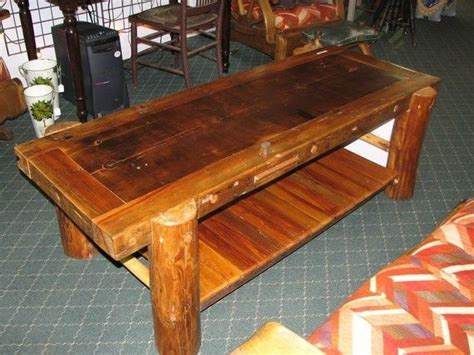 Rustic Log Coffee Table Made Rustic Log Coffee Table By Nicoll Carpentry Llc Custommade