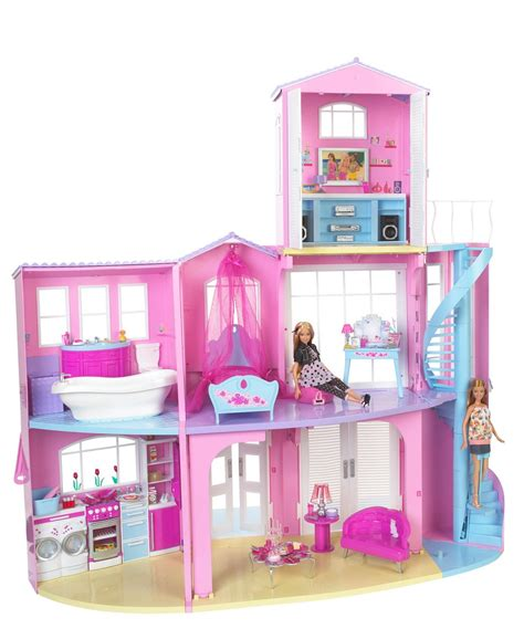 barbie princess doll house pin casa da barbie on pinterest
