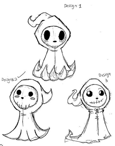 cute voodoo doll drawings mascot design cute grim reaper by anime mangakadesu