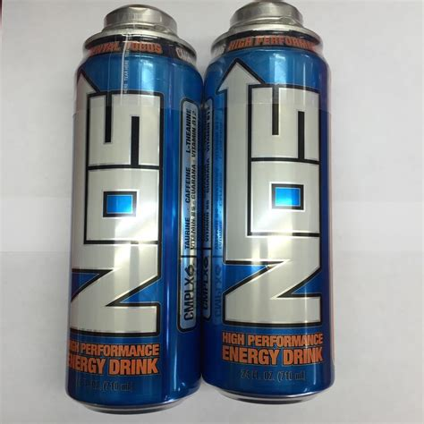 4 p s energy drink nos energy drink 24oz twist cans 2 x new cans lot ebay
