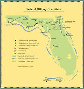 civil war battles in florida map florida civil war battles army casualties killed secession