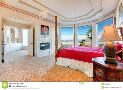 Simple 3 Bedroom Floor Plans Luxuriant Master Bedroom With Fireplace Stock Photos