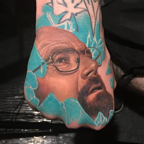 heisenberg tattoo on hand best tattoo ideas gallery
