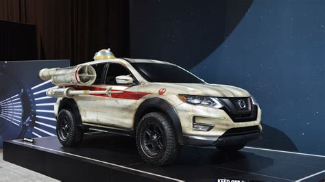 2017 nissan rogue wars nissan rogue wars concept chicago 2017 photo