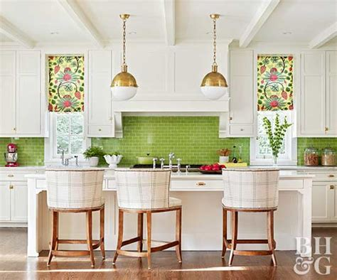 green and white kitchen ideas bhg style spotters
