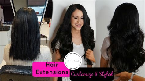 discounted bellami lilly hair my bellami hair extensions customized styled bellami