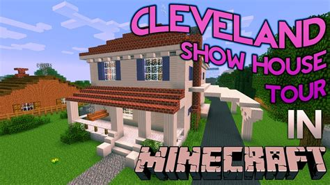 cleveland house minecraft cleveland show house tour youtube