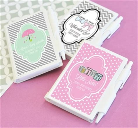 Personalized Notebook 2 personalized mini notebook favors simplyuniquebabygifts