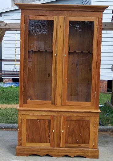 wood and glass gun cabinet basic gun cabinet plans build pinterest cabinet