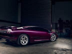 Purple Lamborghini Diablo Car Lamborghini Diablo Vt Purple Wallpaper Hd Desktop