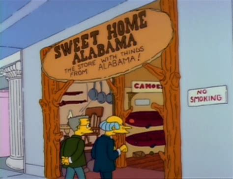 sweet home alabama simpsons wiki