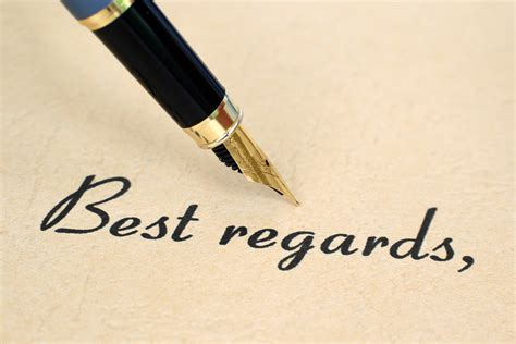 Business Letter Closing Best Regards with best regards closing your letter