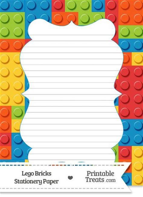 printable paper lego lego bricks stationery paper https www pinterest com