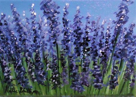lavendar paint floral painting quot lavender field quot an original acrylic on