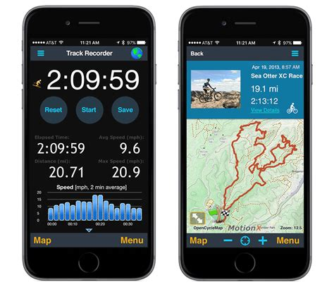 motionx gps for iphone overview motionx