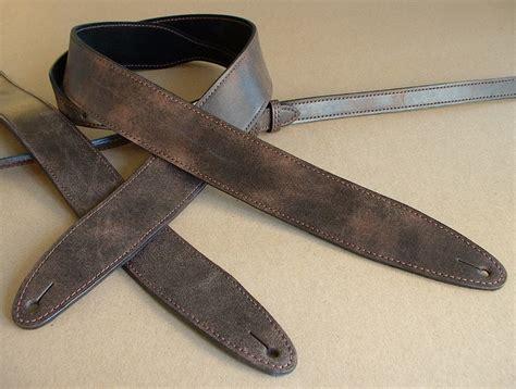 leather straps relic leather guitar 171 el dorado leather guitar