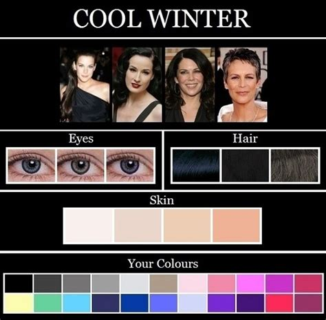 hair color for winter complexion this blog this blog the skin tone seasons winter winter