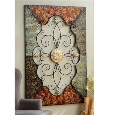 Tin Wall Decor by Wall Designs Tin Wall Metal Wall Plaque