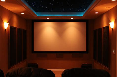 Theatre Ceiling by Panasonic Pt Ae4000u Home Theater By Richard Johnson