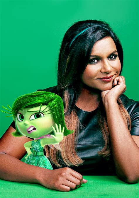 mindy kaling quiz disgust inside out images disgust and her voice actress