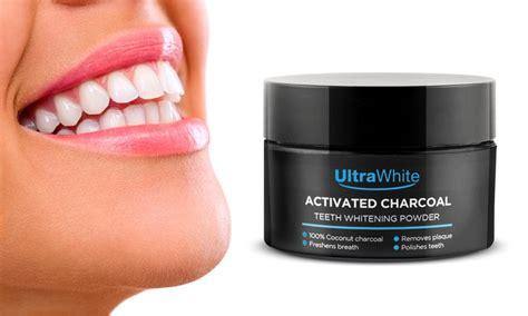charcoal teeth whitening powder groupon goods
