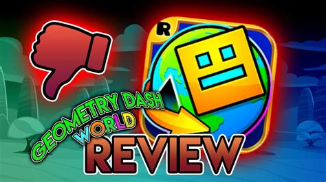 Geometry Dash Full Version Review | geometry dash world full review youtube
