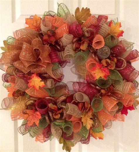1000 ideas about the fall 1000 ideas about fall mesh wreaths on autumn