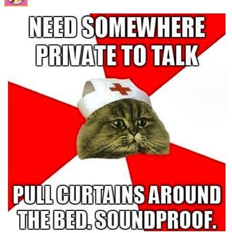 Happy Nurses Week Meme - happy nurses week needs somewhere private to talk pull