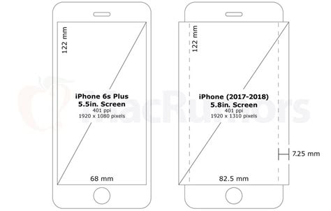 larger 5 8 inch oled iphone screen could allow for wraparound display updated macrumors
