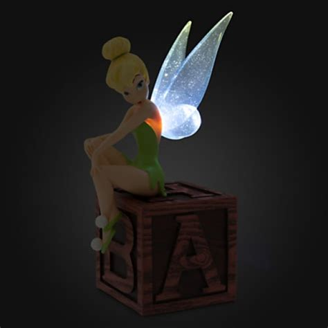 tinkerbell light tinker bell light up figurine