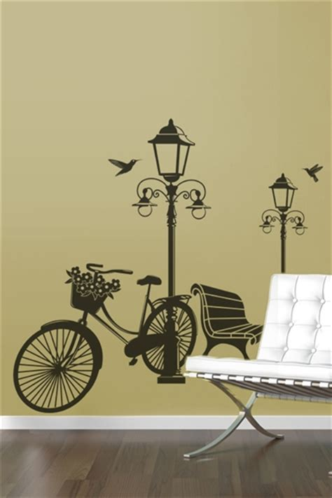 bicycle wall stickers wall decals l and bicycle walltat without