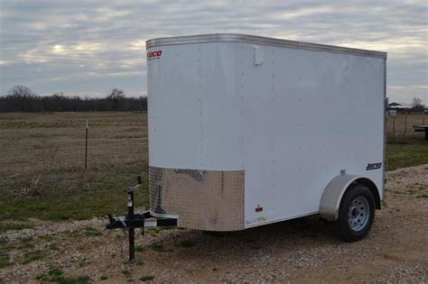 2015 continental cargo 5x8 single axle cargo enclosed trailer pace 5x8 enclosed trailer espotted