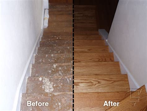 Stained Oak Floors by All About Floor Restore Geek To Sheek Home Improvements