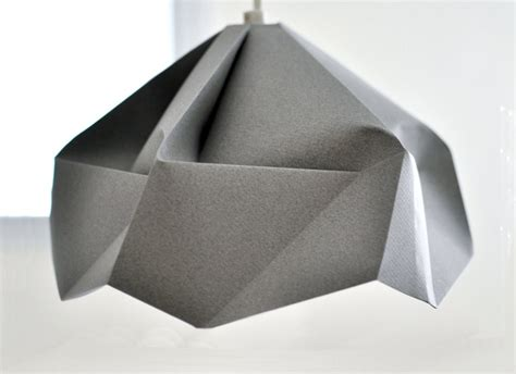 Origami L Shade - 1000 ideas about paper ls on paper light