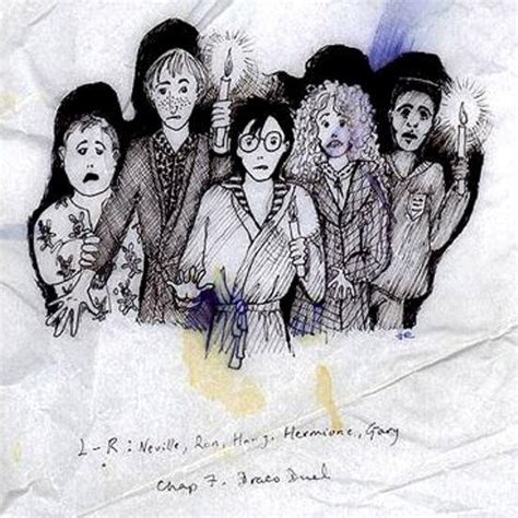 J K Rowling Sketches by J K Rowling S Early Harry Potter Sketches Are A Must See