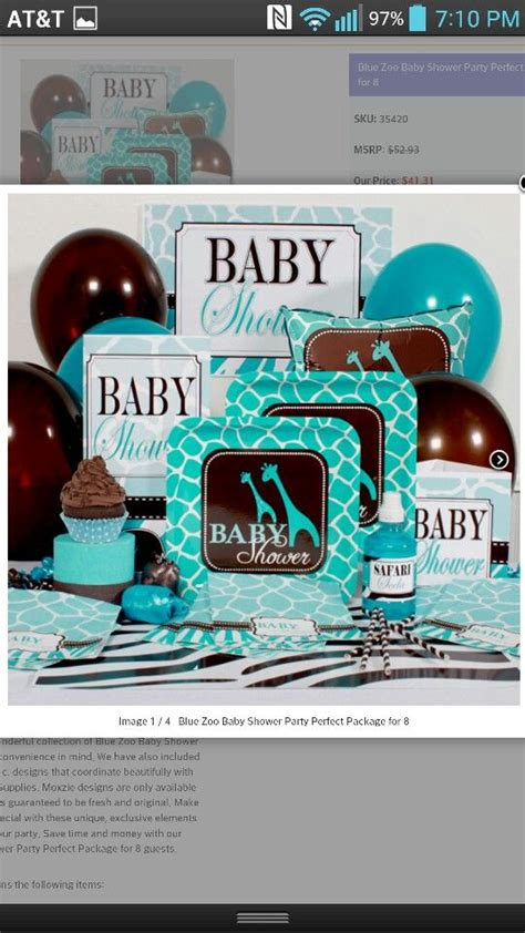 Blue Zoo Baby Shower Decorations by 42 Best Baby Shower Images On Camo Baby