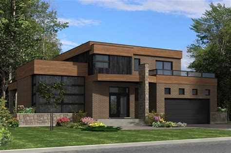 theplancollection com modern house plans contemporary house plan 158 1275 3 bedrm 1850 sq ft