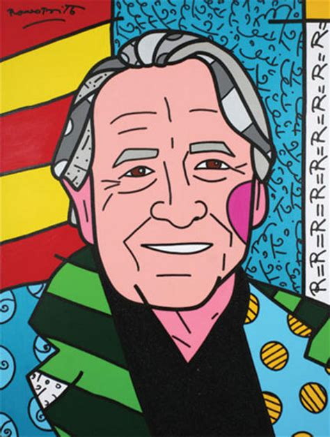 We Love Rauschenberg 2007 Romero Britto Wikiart Org