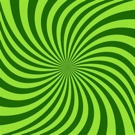 spiral background spiral background vector design from green rotated