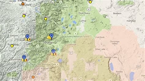 map of oregon air quality interactive maps 2015 season incidents and air