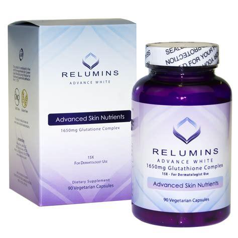 Gluta White 15000 Mg relumins advance white 1650mg glutathione complex 15x for dermatologist use