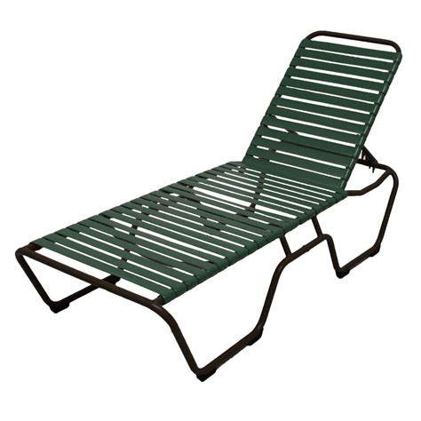 vinyl strap chaise lounge marco island dark cafe brown commercial grade aluminum
