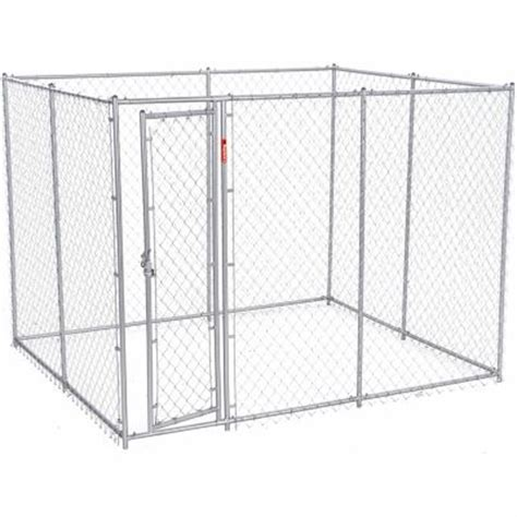 5 in 1 puppy tractor supply lucky 2 in 1 galvanized chain link kennel kit 6 ft h x 5 ft w x 10 or 6 ft