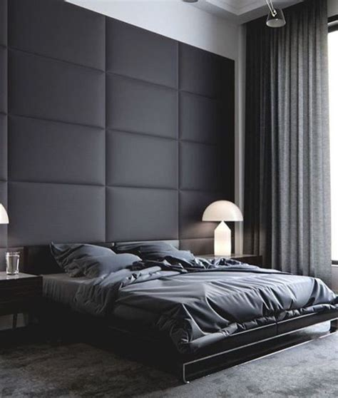 black bedroom walls 27 stylish bedrooms with black walls digsdigs