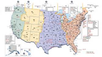 us time zones florida map us time zone map and area codes time