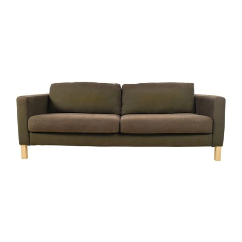 ikea brown couch 50 off ikea ikea brown woven sofa sofas